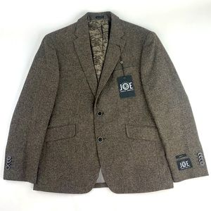 New Joseph Abboud 2B Wool Blend Sport Coat 38S